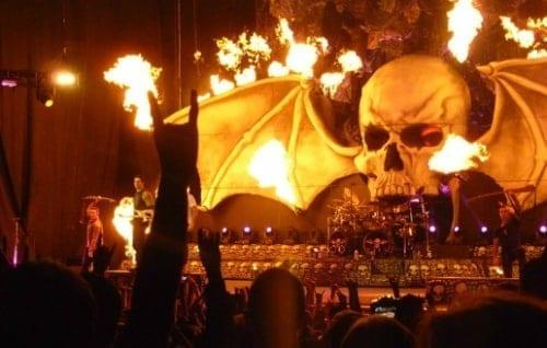 Avenged Sevenfold koncert 2018-ban!