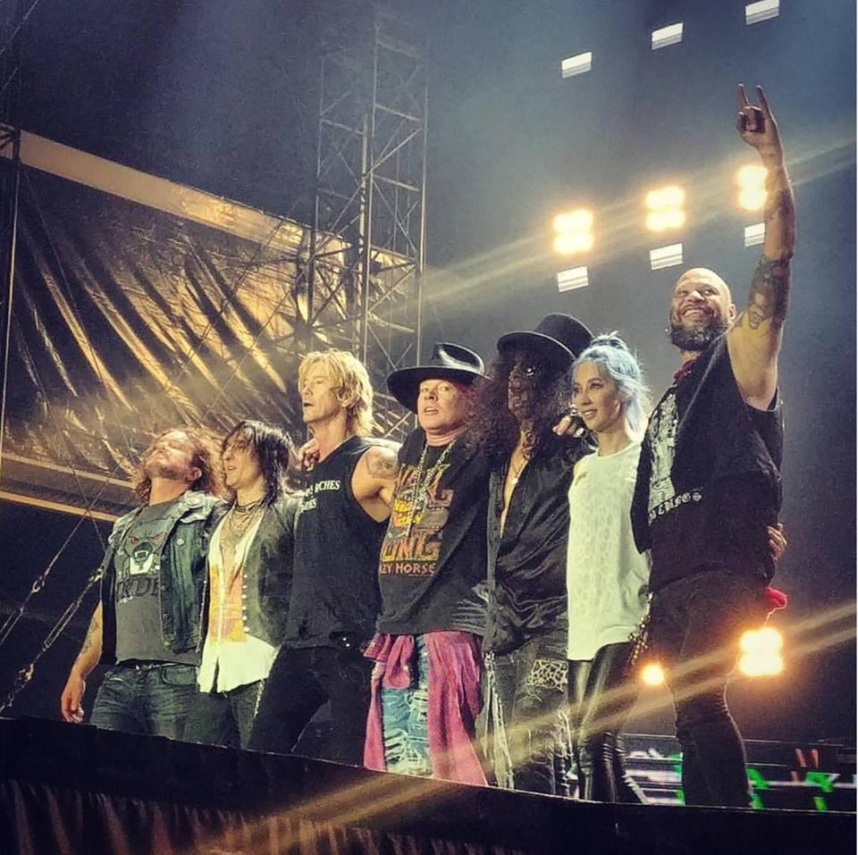 Guns koncert