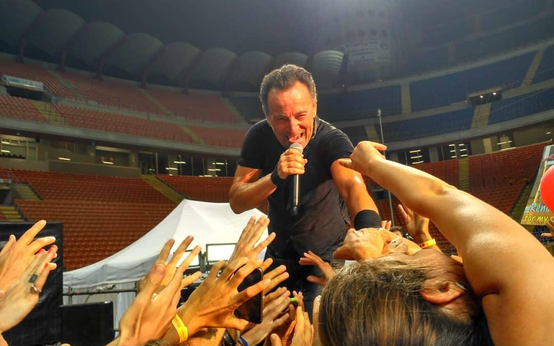 Bruce Springsteen – Élménybeszámoló a Főnök milánói koncertjéről