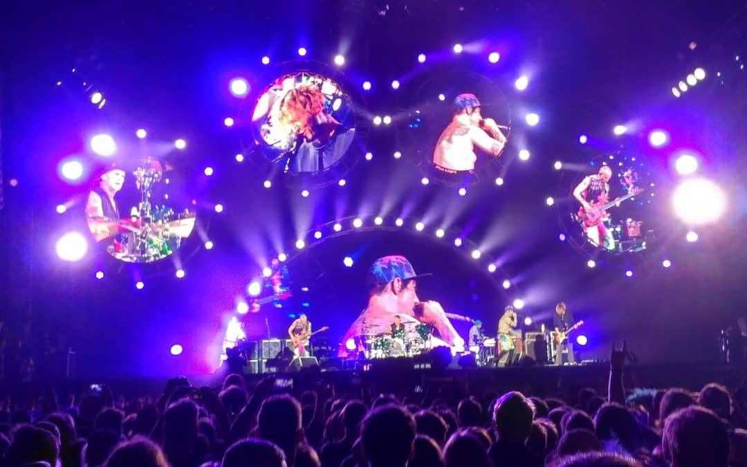 Red Hot Chili Peppers koncerten jártunk!