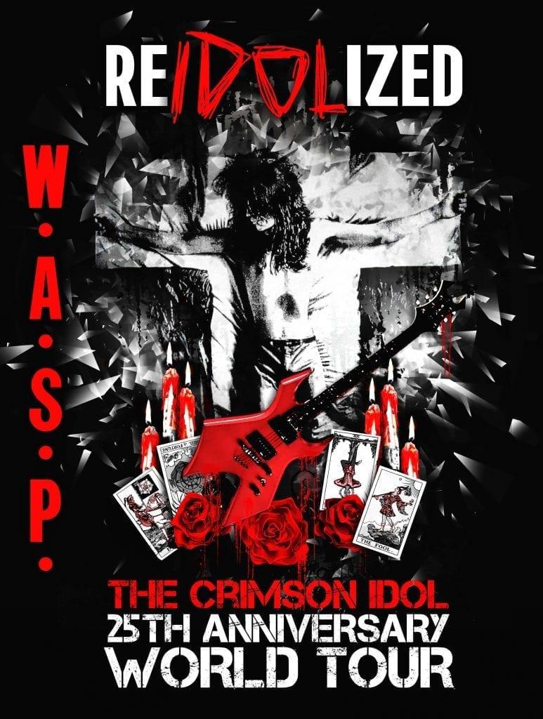 W.A.S.P. – Ismét a The Crimson Idolt ünneplik
