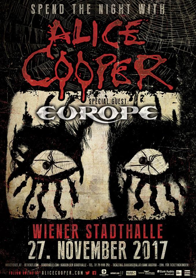 Alice Cooper – A Europe-pal együtt tolják Bécsben