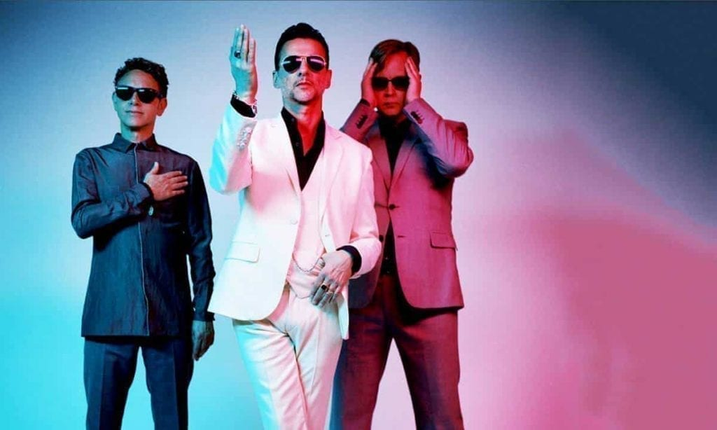 Depeche Mode – Mindent letarol a Global Spirits Turné