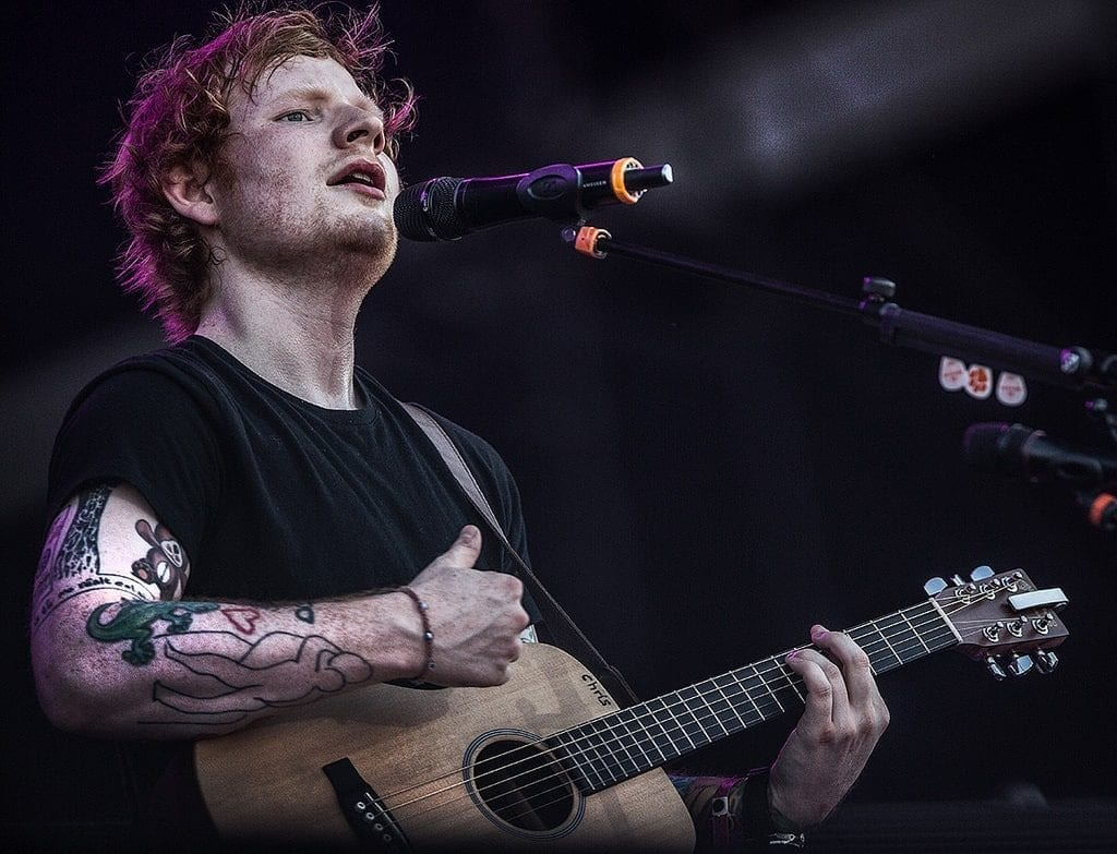 """Ed Sheeran – """"Amihez hozzáér, arannyá válik"""""""