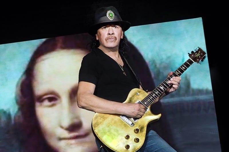Carlos Santana – Mona Lisától Afrikáig kalauzol