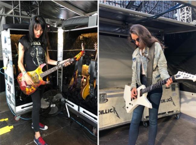 Backstage morzsák Metallica módra